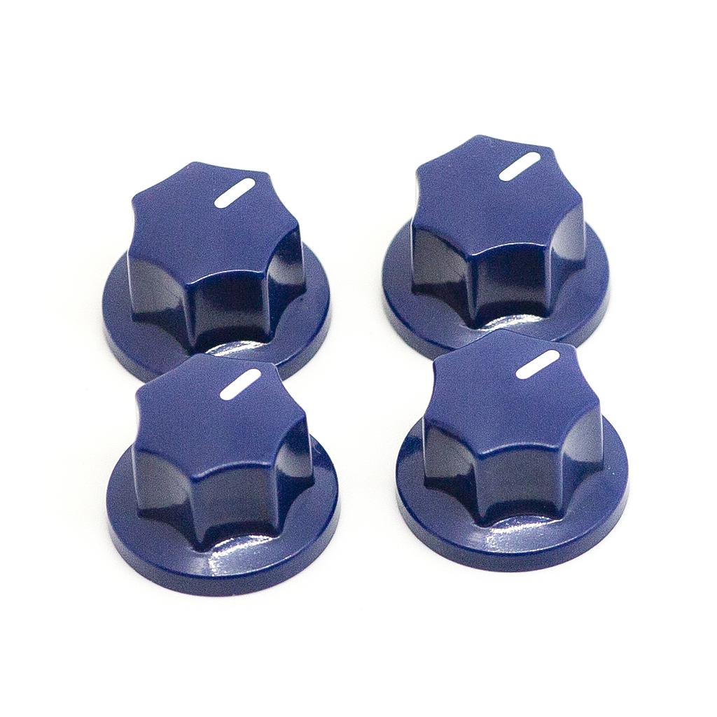 Soul Driven / Replacement Blue D-Shaft Knob 4pc set